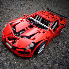 LEGO Set MOC-2012-Vampire GT (Red)吸血鬼