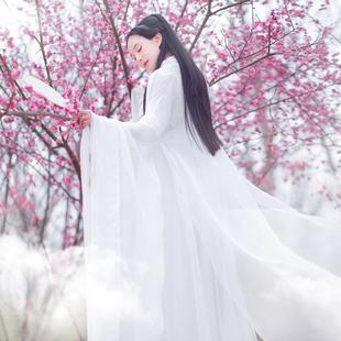 三生三世棉麻记2017夏季衬衫女大袖长衫古装长款披风开衫
