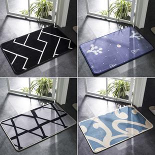 进门地垫定制入户地毯门垫卧室厨房门厅卫浴吸水脚垫浴室防滑垫子