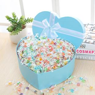 万圣节礼物带贺卡送女生生日千纸鹤创意零食彩色小糖果大