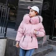 反季chic棉服女短款面包服冬季韩国bf宽松小个子加厚羽绒棉衣外套