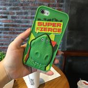 玩具总动员iphone6s手机壳苹果6 plus硅胶套iPhone7立体防摔外壳