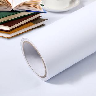 纯白色自粘贴纸墙纸10米网红背景墙宿舍墙纸卧室温馨防水壁纸自粘