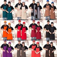 厨师服挂脖防污围裙 餐厅饭店服务员清洁围裙 蛋糕店烘焙工作围裙