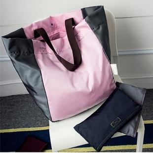 大容量可折叠便携购物袋超市购物包环保袋单肩女手提袋帆布袋买菜