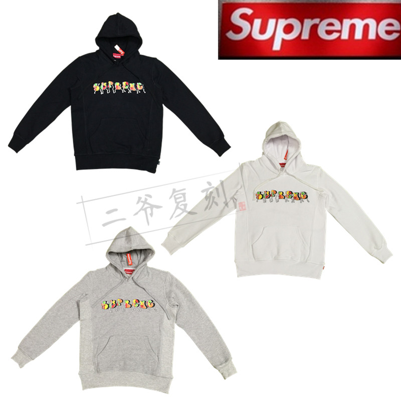 SUPREME16fw Blade Whole Car Hooded Sweatshirt连帽卫衣 帽衫