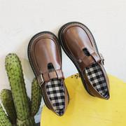 20春季日系软妹 复古娃娃鞋大头小皮鞋原宿百搭学生厚底单鞋女