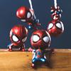 玩悦计划复仇者联盟3蜘蛛侠Q版可爱造型人偶创意摇头磁力手办礼物