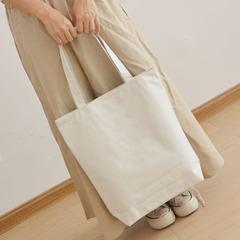 手绘白板包帆布包diy帆布包环保袋手绘包纯色白色单肩手提包