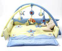 婴儿游戏毯折叠游戏垫宝宝爬行垫音乐爬行毯玩具刚出生满月礼品