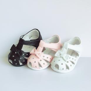 斯乃纳童鞋2019夏款女童凉鞋SP1822202R宝宝羊皮公主学步皮鞋