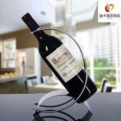 欧式创意不锈钢红酒架吧台洋酒架红酒托 葡萄酒瓶架简约家居摆件