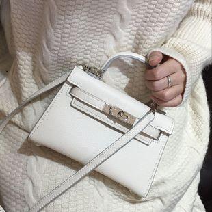 包包女2020女包迷你凯莉包欧美百搭斜跨单肩包女士手提小包包
