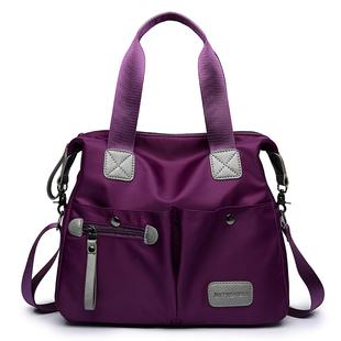 2018帆布包女包手提包单肩包斜挎包牛津布女士包包大包包