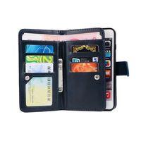苹果6plus商务翻盖式皮套二合一iphone6s手机壳带挂绳钱包款潮