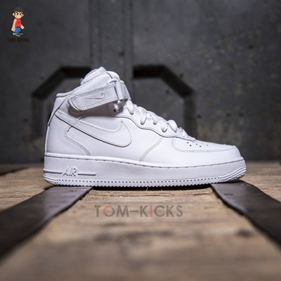 Nike Air force 1 AF1 Mid 全白 315123-111-001 366731-100 板鞋