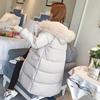 冬季羽绒棉服女2018ins棉袄过膝加厚面包服中长款棉衣服外套