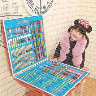 小学生礼物学习339件 儿童用品绘画工具美术画笔水彩笔套装礼盒