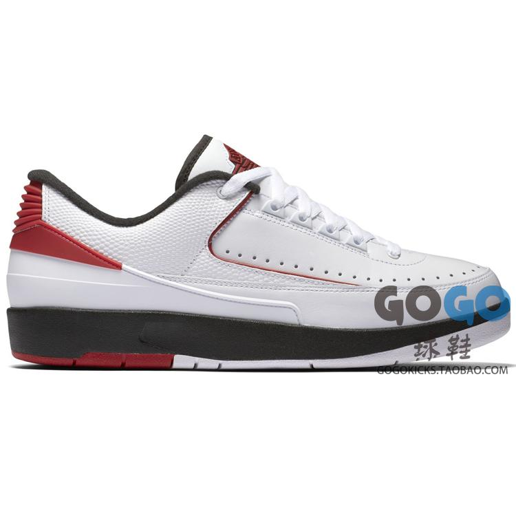 GOGO球鞋 Air Jordan 2 Retro Low Chicago AJ2 公牛 832819-101