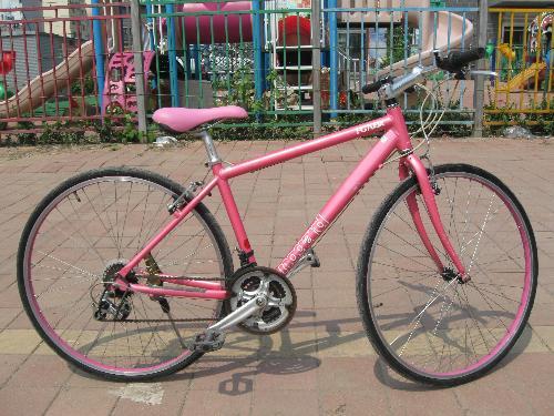 日本原装二手自行车 SHOGUN牌铝合金车架 喜