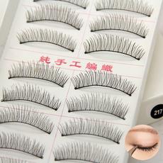9.9元包邮全国 台湾纯手工假睫毛 217棉线梗 自然裸妆眼睫毛