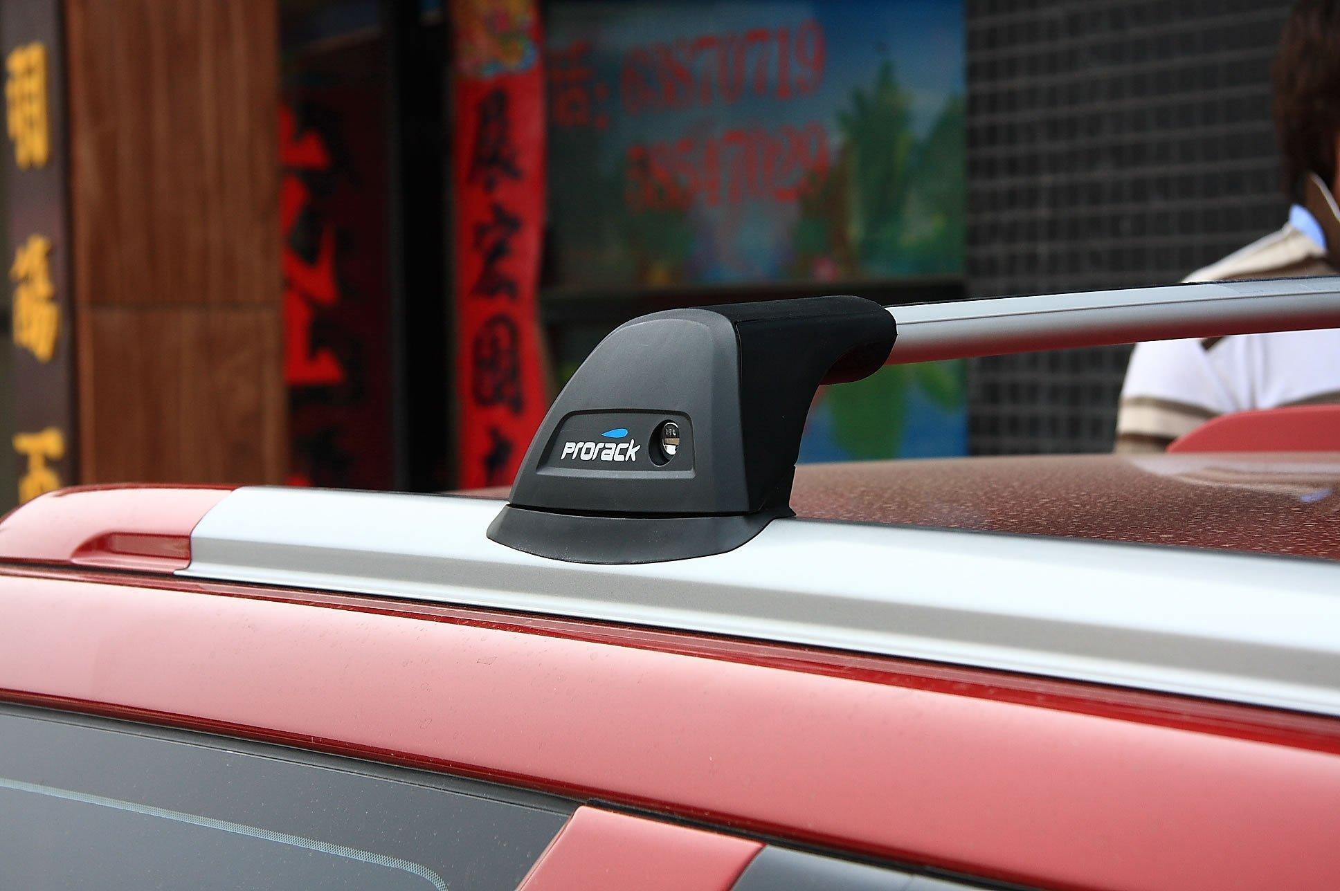 багажник Subaru Forester автомобиля багажник багажник железнодорожных путешествий прохладно стойки prorack whispbar