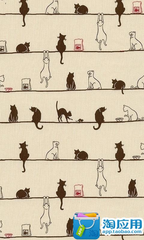 E主题:猫家族派对