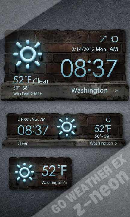 Barhamdroid: GO Weather Ex Premium 5.27 Cracked APK