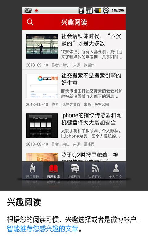 商业科技微报