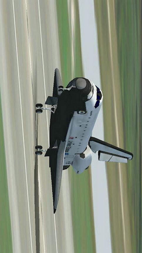 模拟航天机