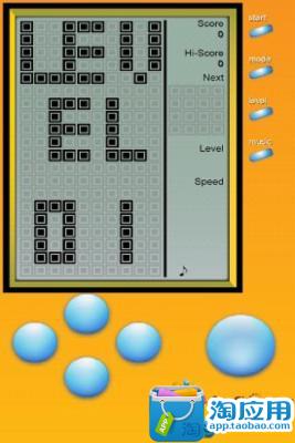 经典俄罗斯方块Tetris