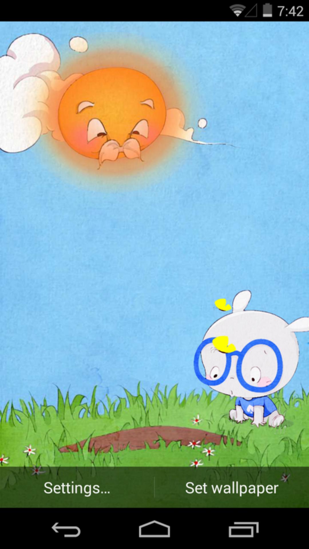 免費下載個人化APP|扑克兔之小桃种树梦象动态壁纸 app開箱文|APP開箱王