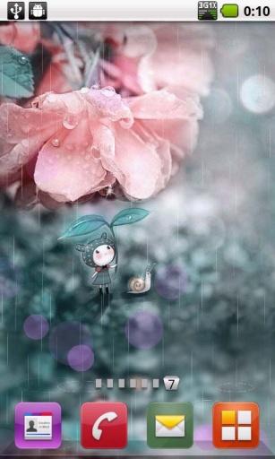 下雨天超萌动态壁纸