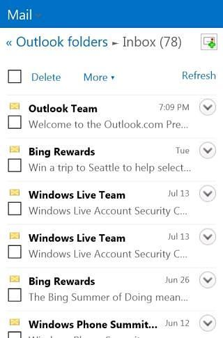 Outlook Web Lite