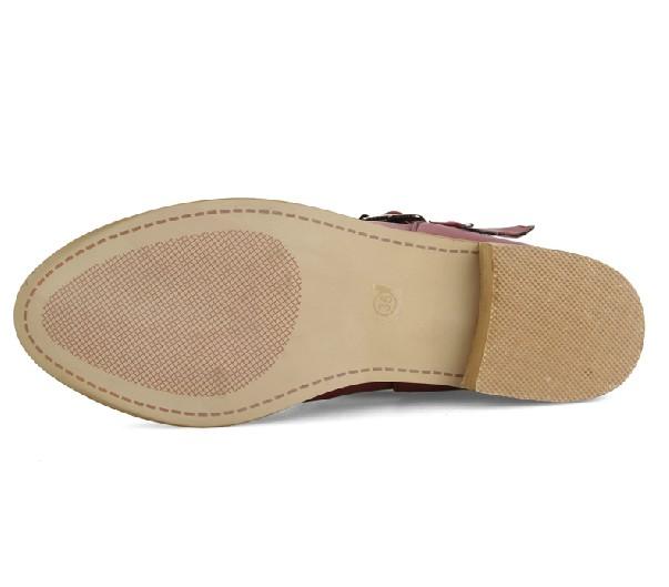 Босоножки 2014 остроконечное отмахнуться от пояса пряжки старинные римские сандалии полые плоские сандалии Великобритании женского бума Европа и корейской версии