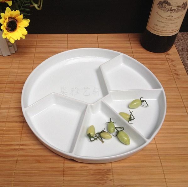 Тарелка Лоток продовольственной лоток быстрого питания поднос 9 фрукты плиты десерт плиты десерт пластины западного стиля фруктовые закуски, которые барабанный барабанный закуски