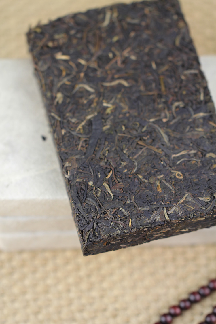 5年干仓醇香,2008年私家茶园紫芽茶250克纯料生砖 - 阎红卫 - 阎红卫经赢之道策划产业联盟