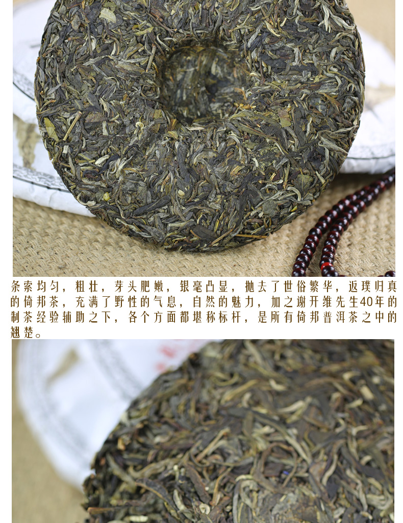 倚邦古树2013年明前春茶357克 - 阎红卫 - 阎红卫经赢之道策划产业联盟