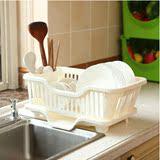 厨房沥水架碗架筷子筒三件套