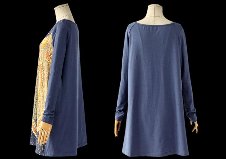 Трикотажное платье туника с доставкой