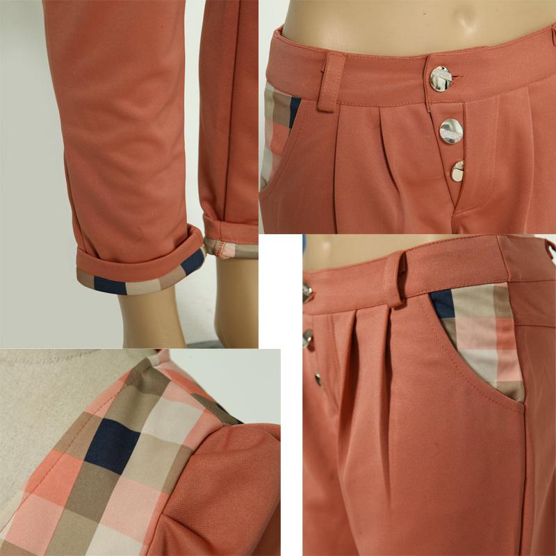 Брючный костюм 70 процентов рано усыновителей 2012 женщин осень новый случайный 2 шт набор пальто + брюки костюм главы