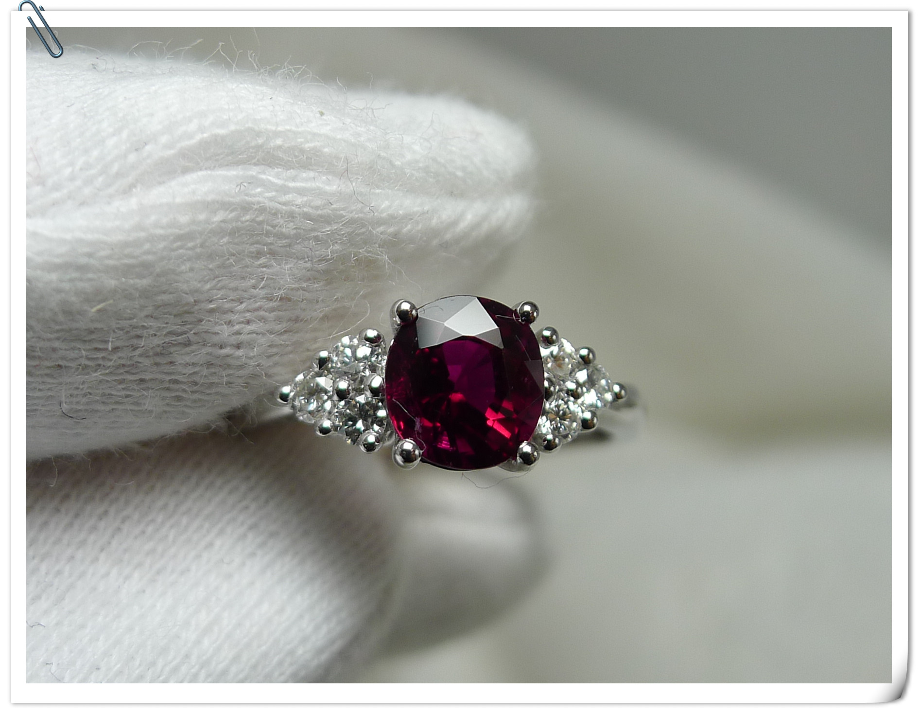 Драгоценные, Полудрагоценные камни Цвет рубиново красный турмалин кольцо большой классический 18K Золото инкрустация конец оплаты ссылка
