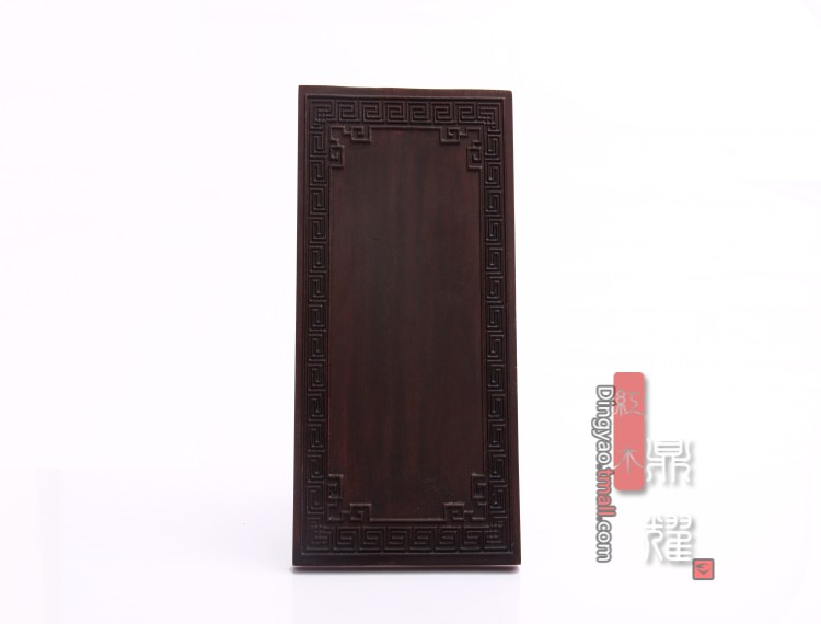 dingyao Mahogany jewelry display props jewelry display boards Products brand black wooden display stand jewelry stand Azusa
