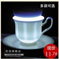Houhai Genuine high-grade bone China large capacity high Cup zakka with lid ceramic cups mugs gift distribution boxes