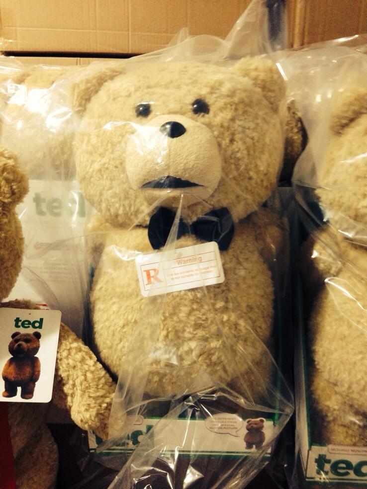 美国电影泰迪熊ted_版ted熊正品代购会说话的美国电影泰迪熊ted萌