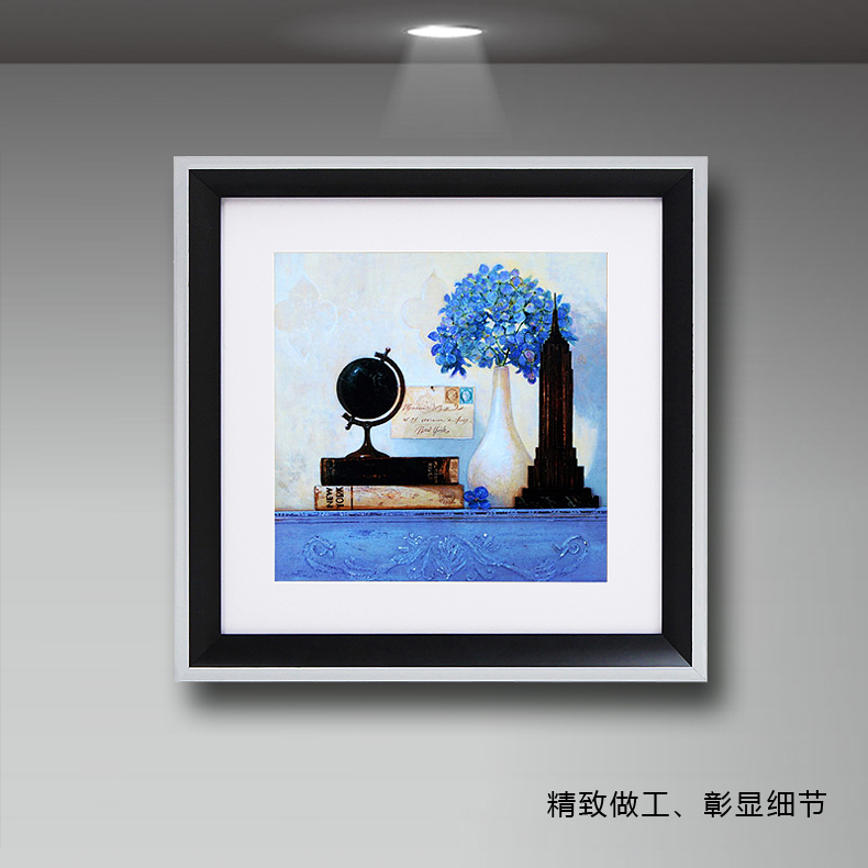 Will draw Bedroom bedside wall painting paintings decorative painting modern minimalist living room sofa backdrop painting framed painting Mediterranean