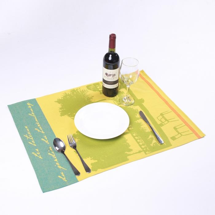 【巴黎风情】卢森堡公园小船桌垫 - 法国制造MadeinFrance - 法国制造