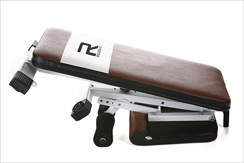 美国 飞鸟/美国RUOSAI若赛仰卧板折叠哑铃凳小飞鸟腹肌板健身椅RS200包...