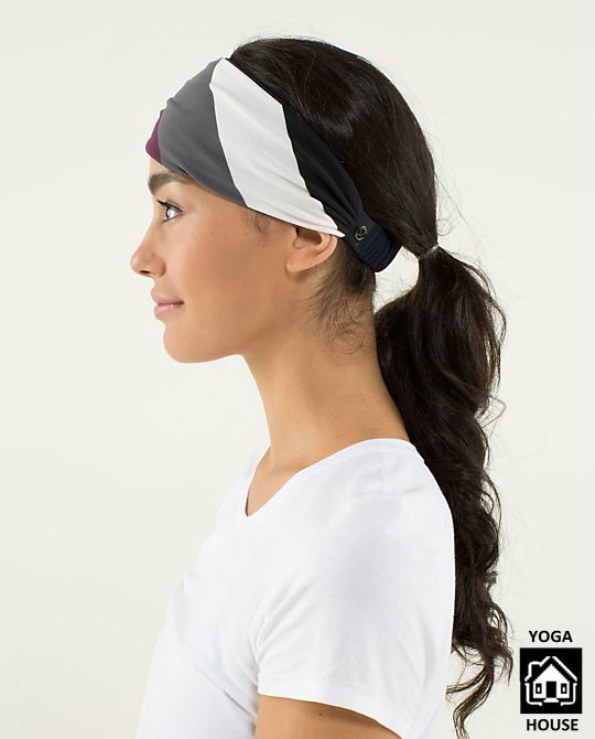 повязка на голову Lululemon  Yo+ Bang Buster Headband