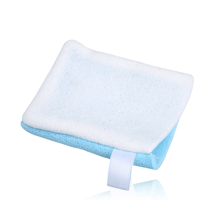 NALA Bath cotton the seaweed wash cleansing puff of dual-use gloves do clean up remover wash triple
